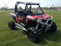 Very nice RZR with power steering and all of the bells