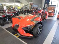 2015 POLARIS SLINGSHOT SL DEALER DEMO WITH ONLY 393