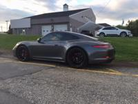 ABSOLUTELY STUNNING 2015 911 4S COUPE!! AWD, PDK, BLACK