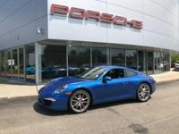 JUST IN! 1 OWNER, MANUAL TRANSMISSION 911 EQUIPPED WITH