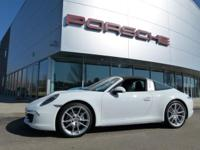JUST IN! RARE TARGA 4 MODEL FINISHED IN WHITE OVER