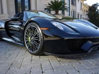 918 Spyder Roadster!All Recalls Done!The Vehicle is