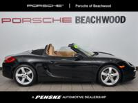 CARFAX 1-Owner, LOW MILES - 5,693! Boxster trim, Black
