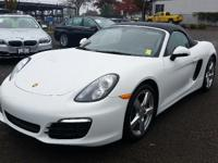 GREAT MILES 11,061! EPA 30 MPG Hwy/20 MPG City! Boxster