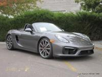 2015 Boxster GTS convertible in Agate Grey with black