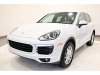 CARFAX One-Owner. Clean CARFAX. White 2015 Porsche