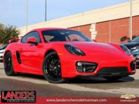 Carmine Red 2015 Porsche Cayman RWD 6-Speed Manual 2.7L