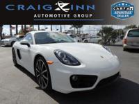 PREMIUM & KEY FEATURES ON THIS 2015 Porsche Cayman
