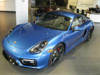 LOADED 2015 Cayman GTS. This is a one owner Cayman GTS