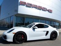 PORSCHE CERTIFIED CAYMAN GTS FINISHED IN WHITE OVER