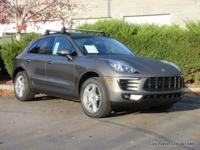 2015 Macan S sport utility in Agate Grey with black