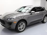 2015 Porsche Macan with Infotainment Package,3.0L
