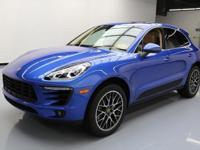 2015 Porsche Macan with Sapphire Blue Metallic,Premium