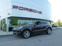 JUST TRADED! 1 OWNER MACAN S FINISHED IN MAHOGANY