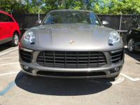 Options:  2015 Porsche Macan S|Agate Gray