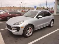 CARFAX One-Owner. 2015 Porsche Macan Turbo AWD 7-Speed