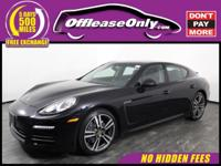 Outstanding Deal! One Owner. This 2015 Porsche Panamera