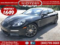This Amazing Black 2015 Porsche Panamera 4S Executive