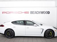 2015 Porsche Panamera S E-Hybrid in White over Black