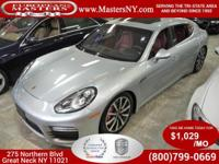 This Lovely Silver 2015 Porsche Panamera Turbo