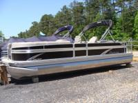 2015 Premier Sunsation 250 RF Tritoon EbonyRay Clepper