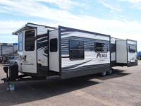 These rugged built easy-to-tow travel trailers make