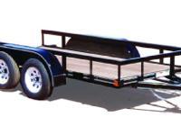 2015 R&D 12X77TA 12X77 Tandem Axle Utility Trailer - $1