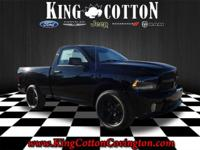 Express trim, Black Clear Coat exterior. 4x4, BLACK RAM