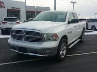 Clean CARFAX. Bright White Clearcoat 2015 Ram 1500 Big