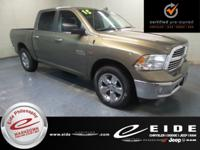 This 2015 Ram 1500 Big Horn Crew Cab is Prairie Tan