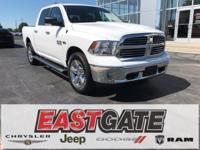 Bright White Clearcoat 2015 Ram 1500 Big Horn, 4 X 4!,