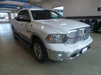 CARFAX One-Owner. Bright White Clearcoat 2015 Ram 1500