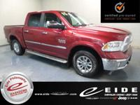 2015 Ram 1500 Laramie 4X4***Deep Cherry Red Crystal