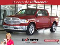 CARFAX One-Owner. HEMI 5.7L V8 Multi Displacement VVT