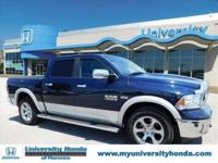 CLEAN CARFAX One-Owner. Laramie 4WD, HEMI 5.7L V8