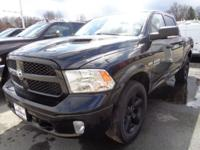 ONE OWNER, CLEAN CARFAX, RAM 1500 OUTDOORSMAN PACKAGE,