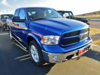 Outstanding design defines the 2015 Ram 1500! Packed