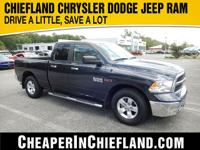 2015 Ram 1500 SLT Grey CARFAX One-Owner. Clean CARFAX.