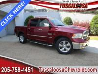 This 2015 Ram 1500 SLT in Red Metallic features: HEMI