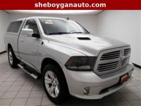 Bright Silver Metallic Clearcoat 2015 Ram 1500 Sport **
