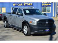 2015 RAM 1500 Tradesman Crew Cab LWB 2WD Options: