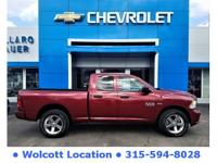 2015 Ram 1500 Red Clean CARFAX. CARFAX One-Owner. 4WD