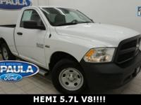 CARFAX One-Owner. 1500 Tradesman, HEMI 5.7L V8 Multi