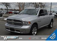 CERTIFIED PRE-OWNED 2015 RAM 1500 BIG HORN WITH ONE