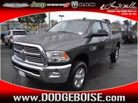 In this 2015 RAM 2500, delight in every drive with