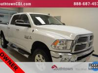 CARFAX One-Owner. Bright White Clearcoat 2015 Ram 2500