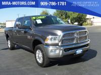 Only 20,972 Miles! This Ram 2500 boasts a Intercooled