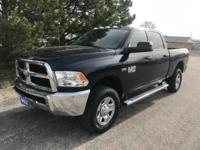 Check out this 2015 Ram 2500 Tradesman. Its Automatic