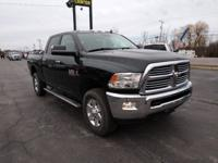 New Price! Black Clearcoat 2015 Ram 3500 Big Horn 4WD
