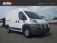 2015 ProMaster, 22,194 miles, options include: